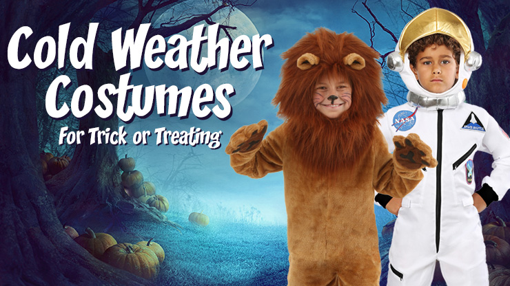 Cold Weather Costumes for Trick or Treating