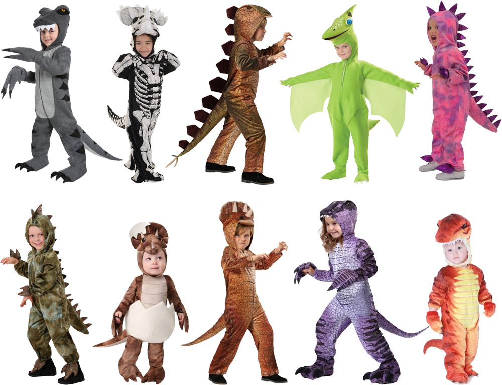 Dinosaur Costumes for Cold Weather