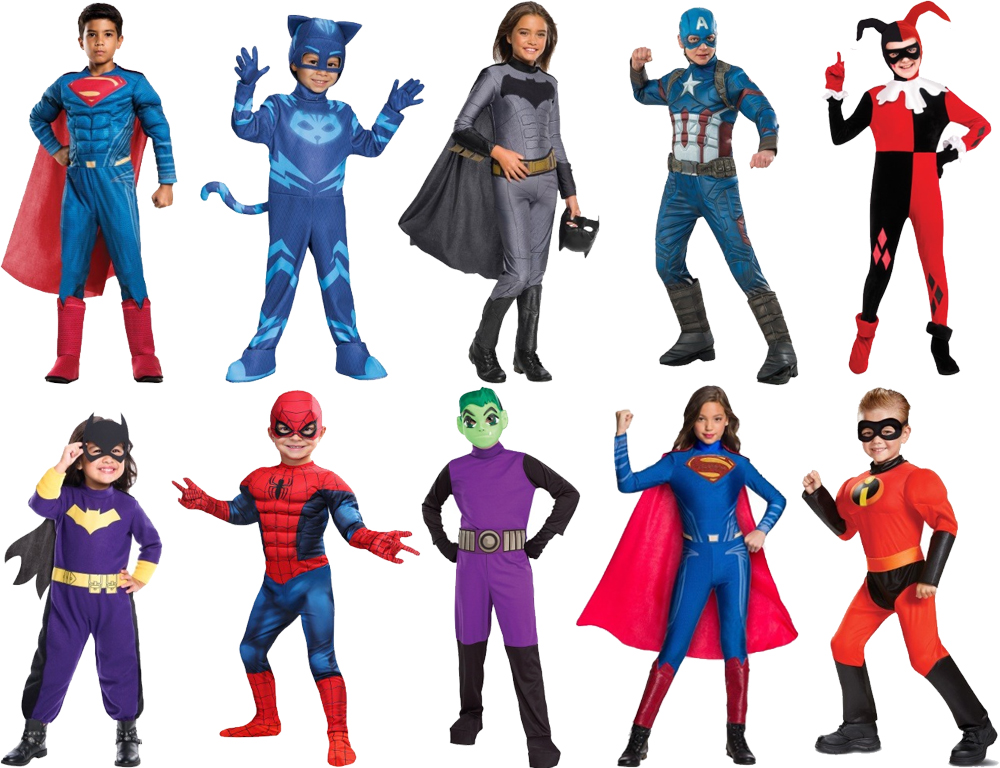 Superhero Costumes for Cold Weather
