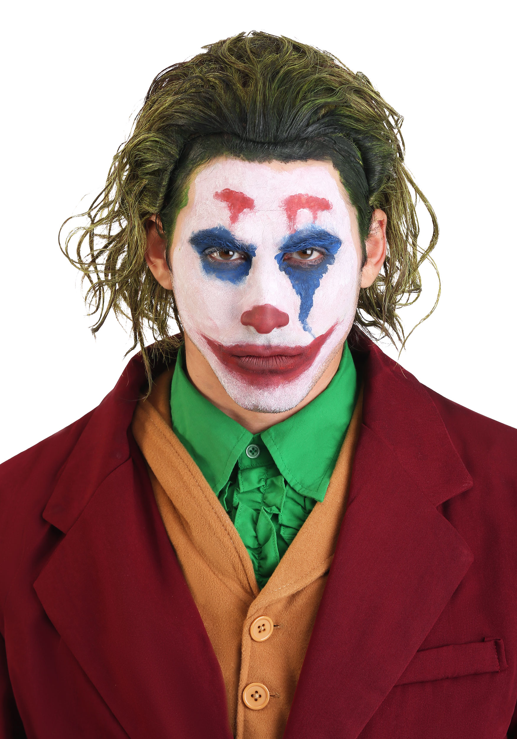 the completed joker look