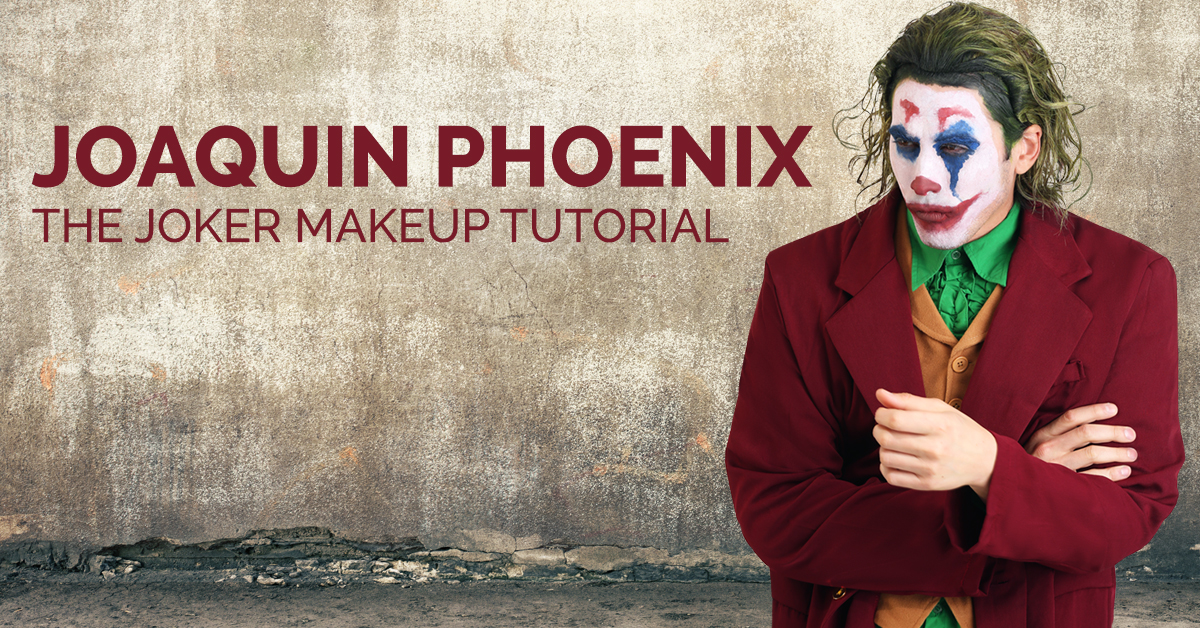 Joaquin Phoenix The Joker Makeup Tutorial