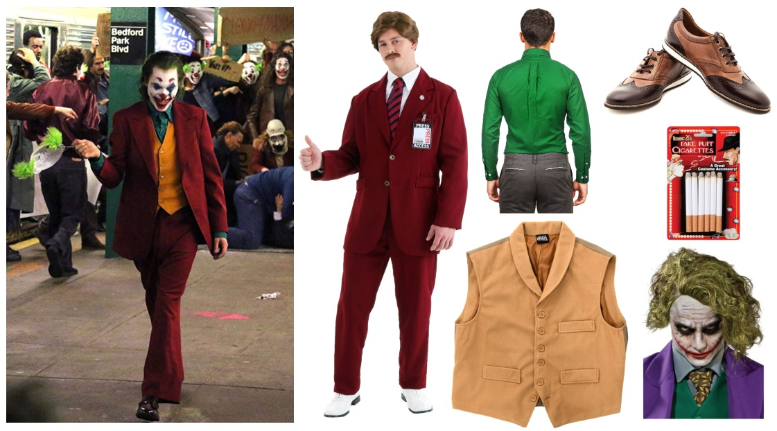 Joker Movie Costume Pieces