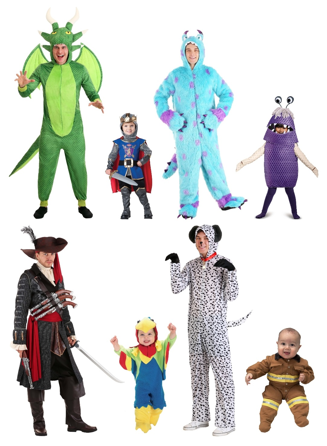 Daddy and Baby Costumes