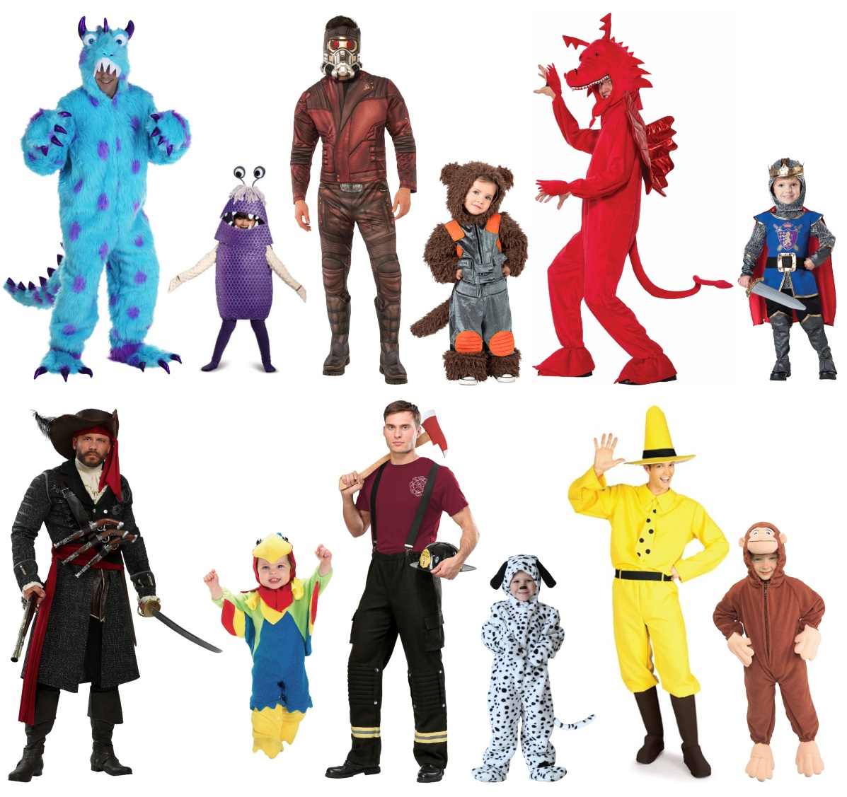 Daddy and Me Toddler Costumes