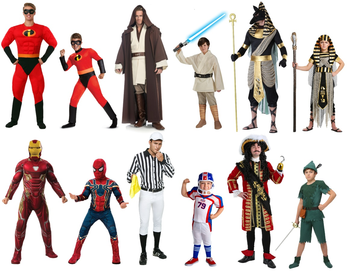 Daddy and Me Costumes for Boys