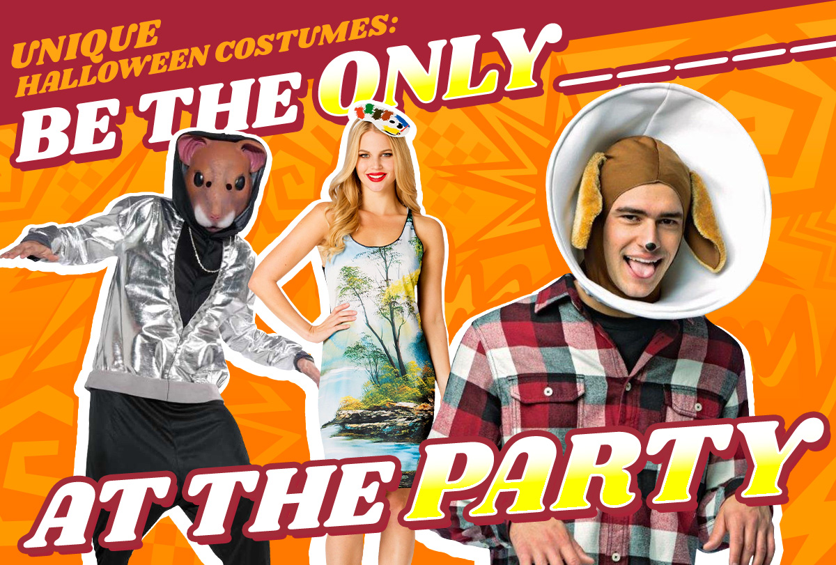 Unique Halloween Costumes: Be the Only _____ at the Party