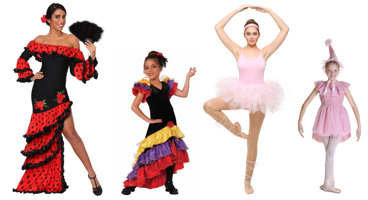 dance costumes from actual dances