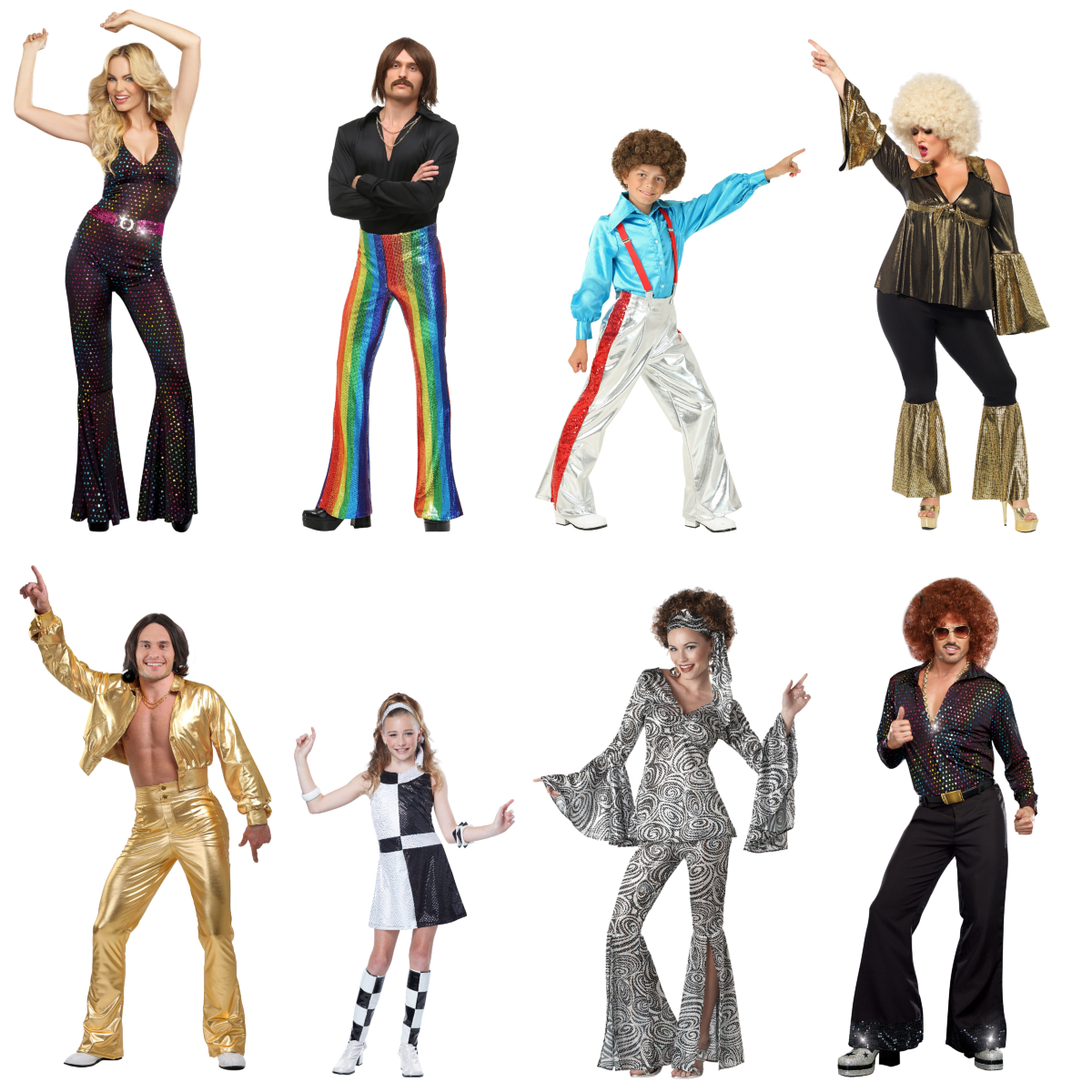 Disco Costumes to Take You to Funkytown