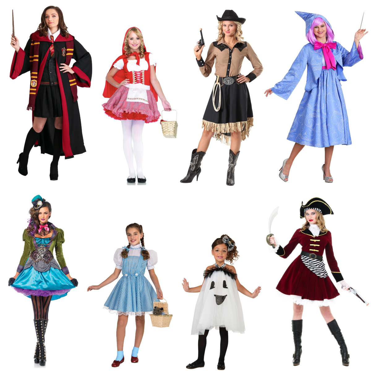 Costumes with Skirts to Twirl In