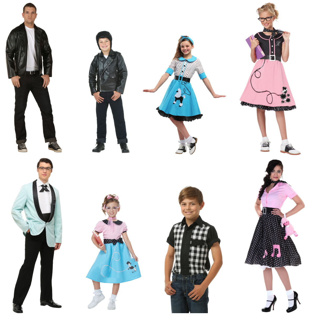 Sock Hop Costumes to Jitterbug In
