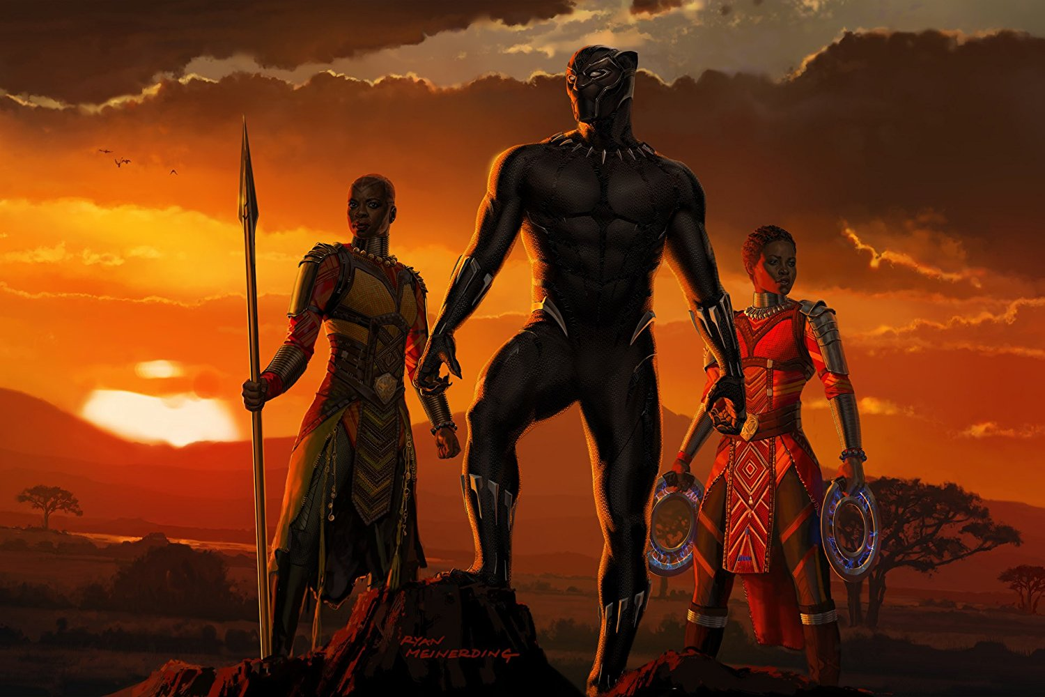 The Best Superhero Movie of 2018: Black Panther