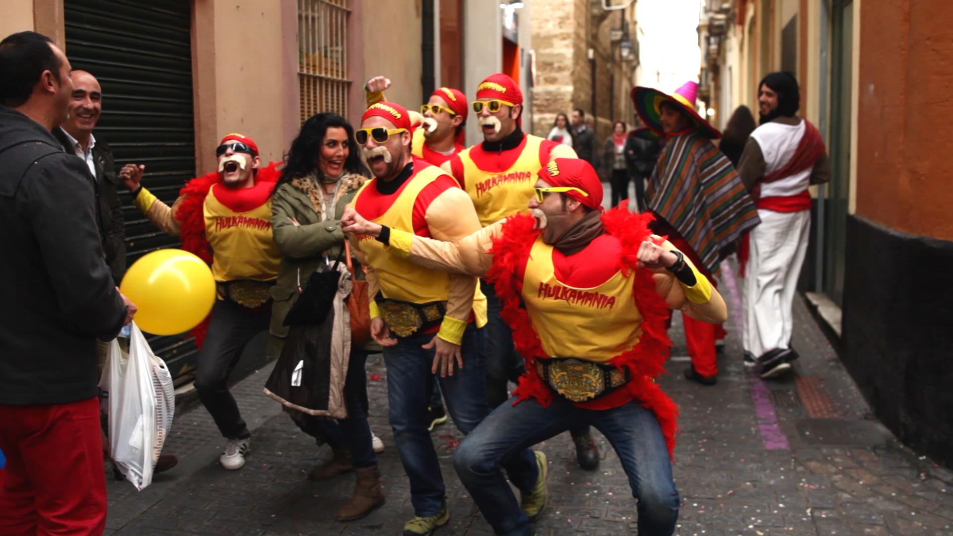 The Carnival of Cadiz in Spain