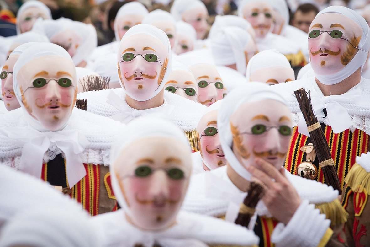 The Carnival of Binche in Belgium