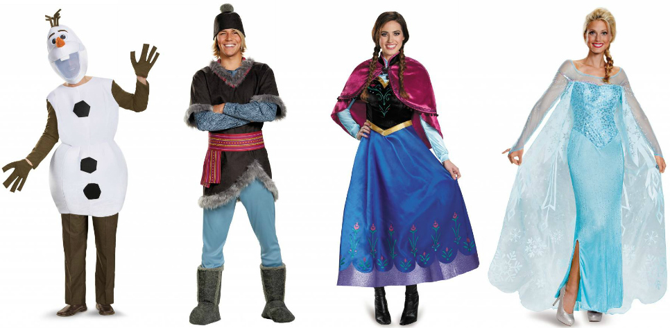 Frozen Adult Costumes