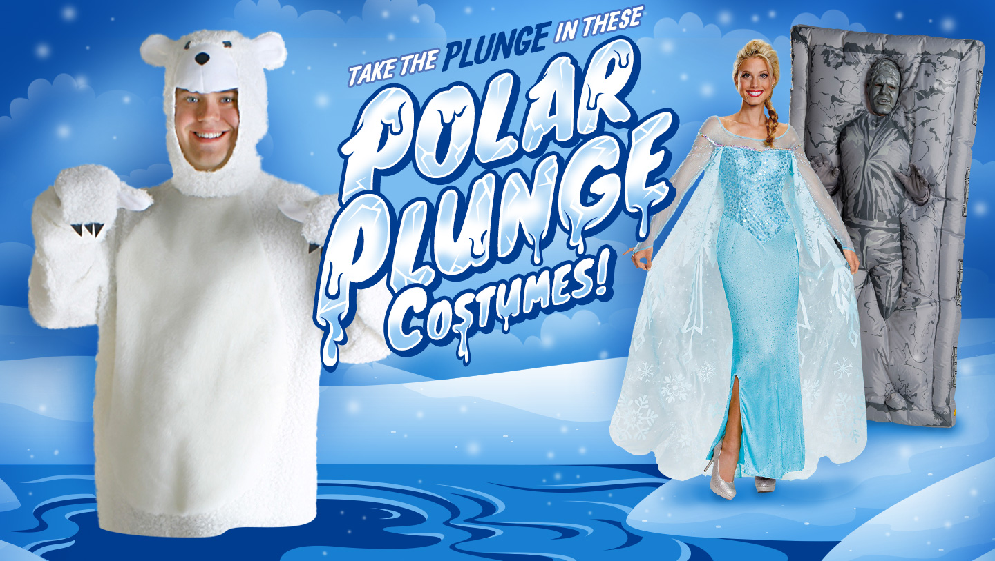 Polar Plunge Team Costumes