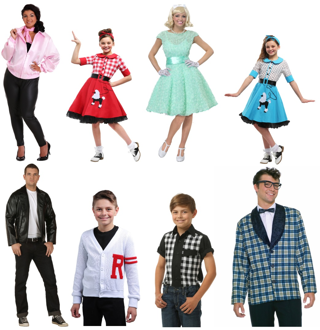 50s Costume Ideas to Wear to a Sock Hop