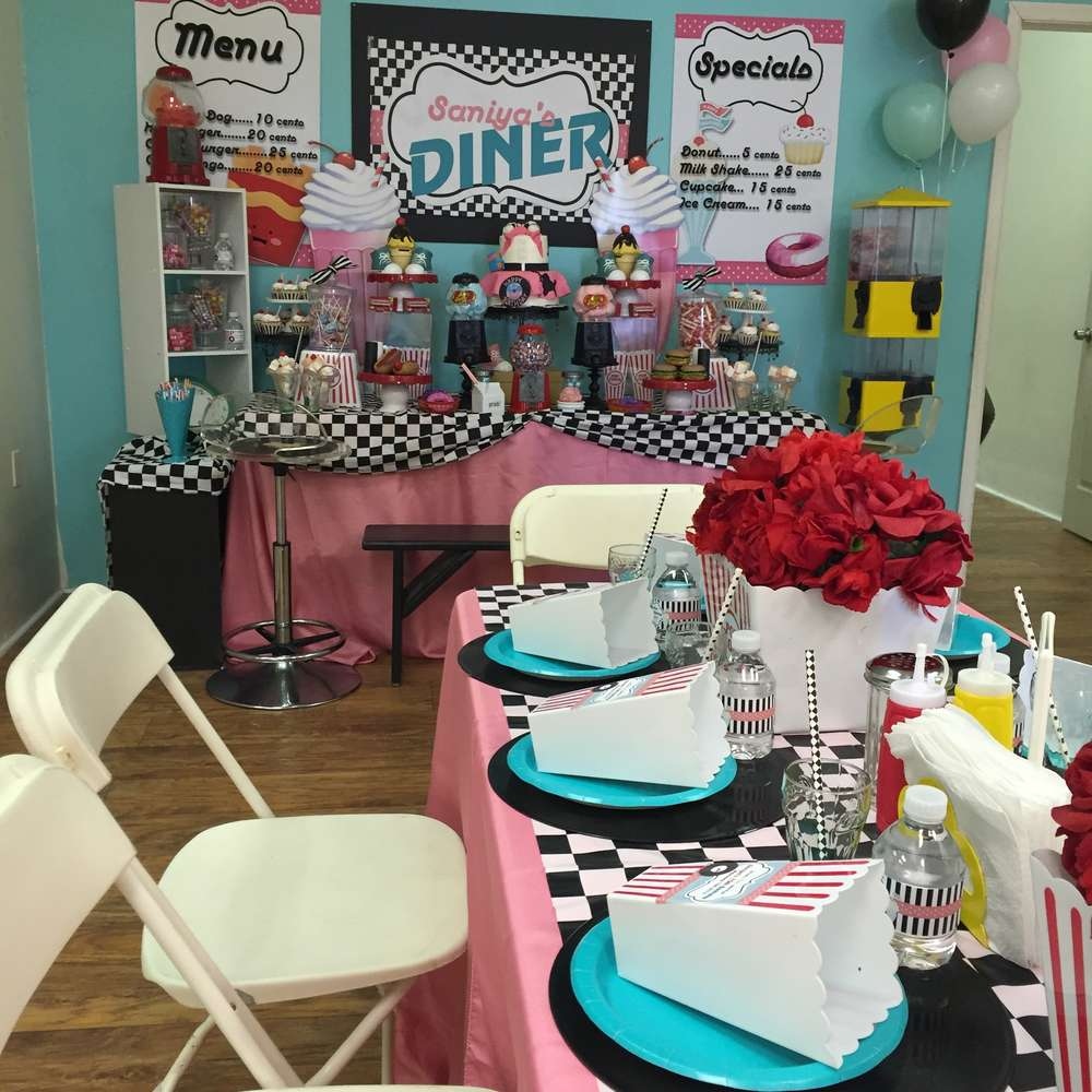 50s Party Decoration Ideas