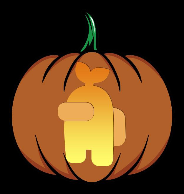 Among Us Pumpkin