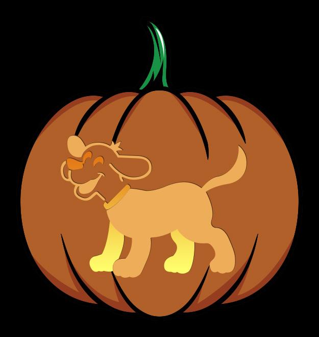 Clifford the Big Red Dog Pumpkin