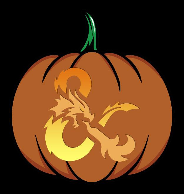 Dungeons & Dragons Pumpkin