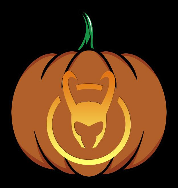 Marvel Loki Pumpkin