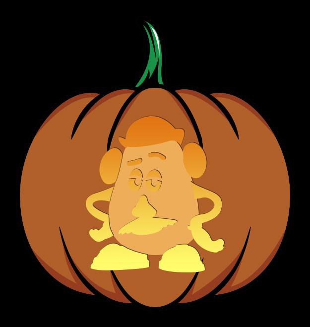 Potato Head Pumpkin