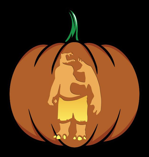 The Suicide Squad Pumpkin