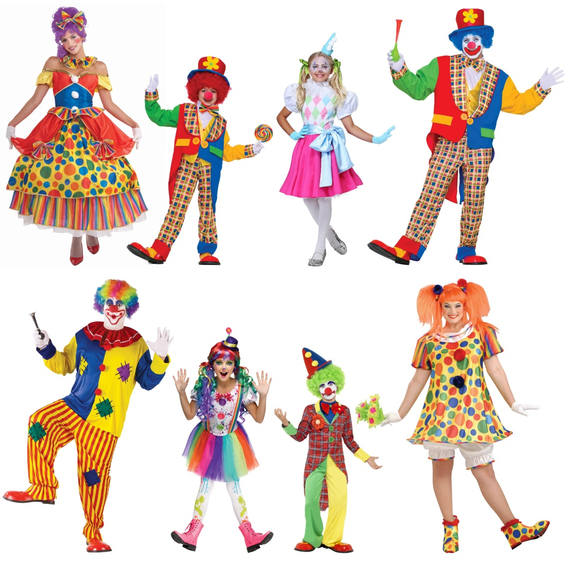 Clown Costumes for Silly People