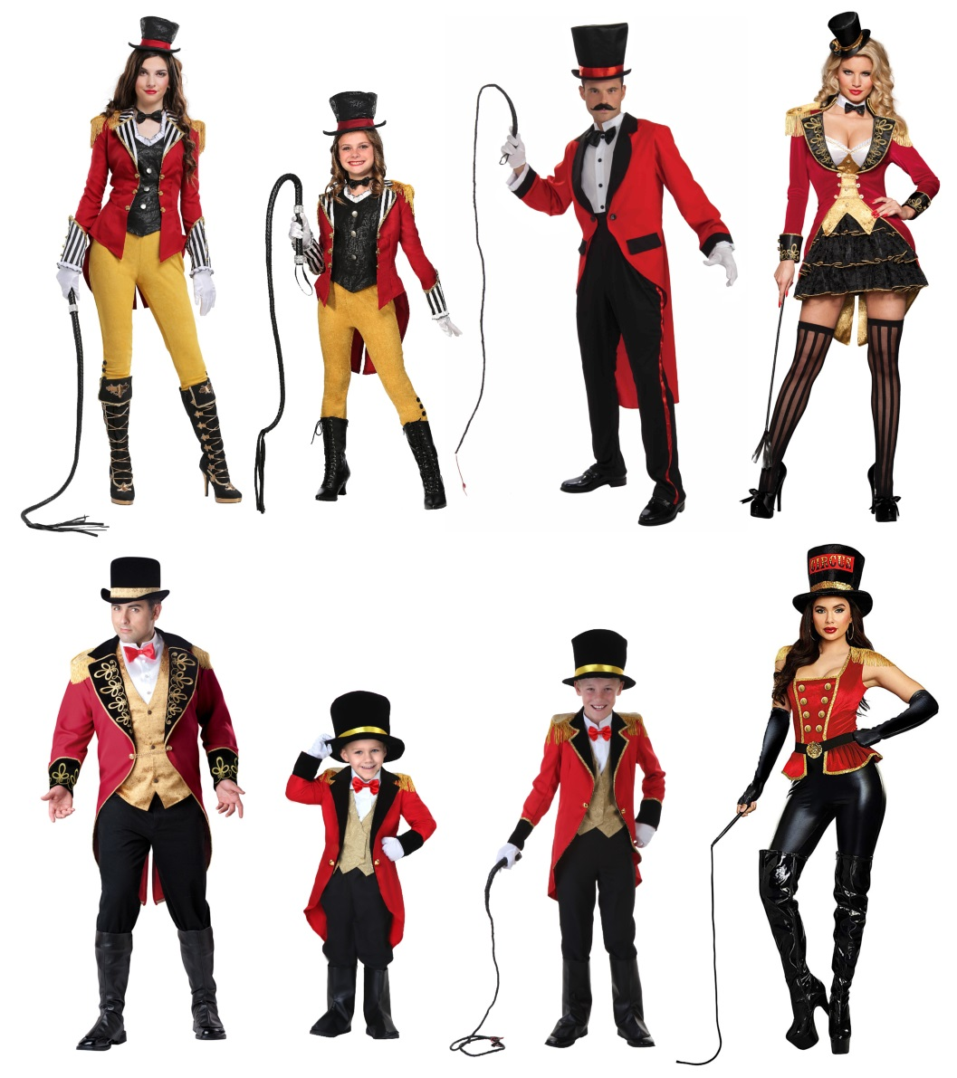Ringmaster Costumes for the Person That Loves the Spotlight