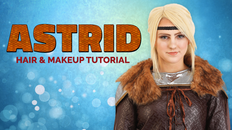 Astrid Hair and Makeup Tutorial