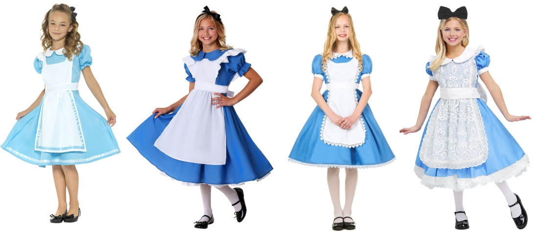 Look at These Alice Costumes for Girls
