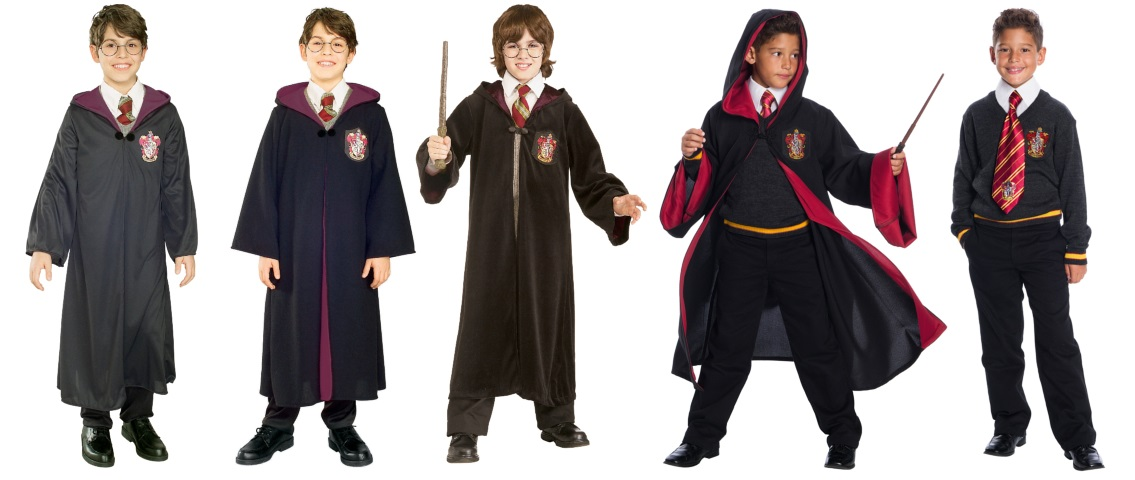 No Gemino Curse Here- These Are All Different Harry Potter Costumes