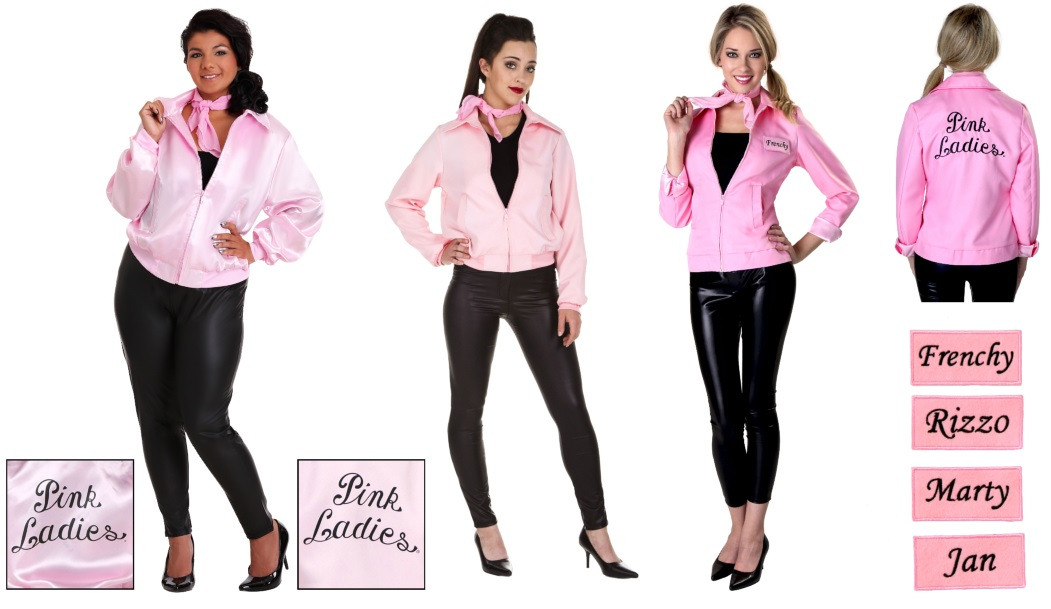 Check Out These Three Pink Ladies Costume Jackets
