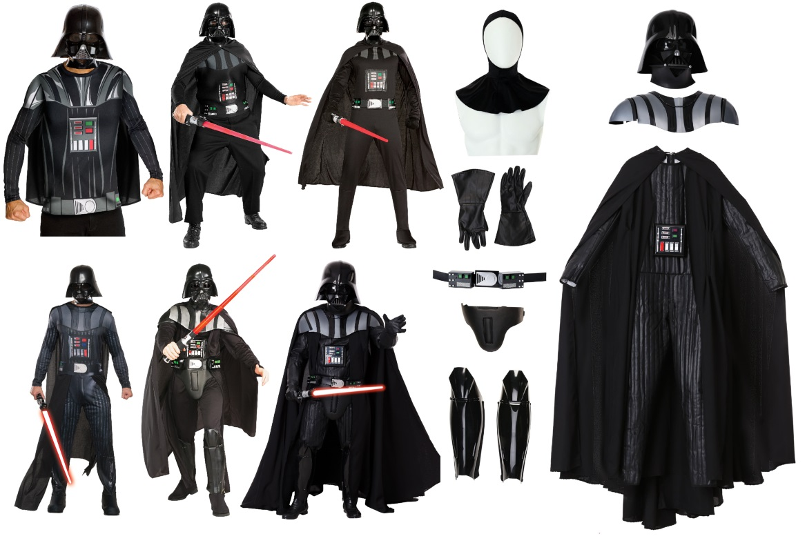 Yes, You Really Do Need Six Kinds of Darth Vader Costumes