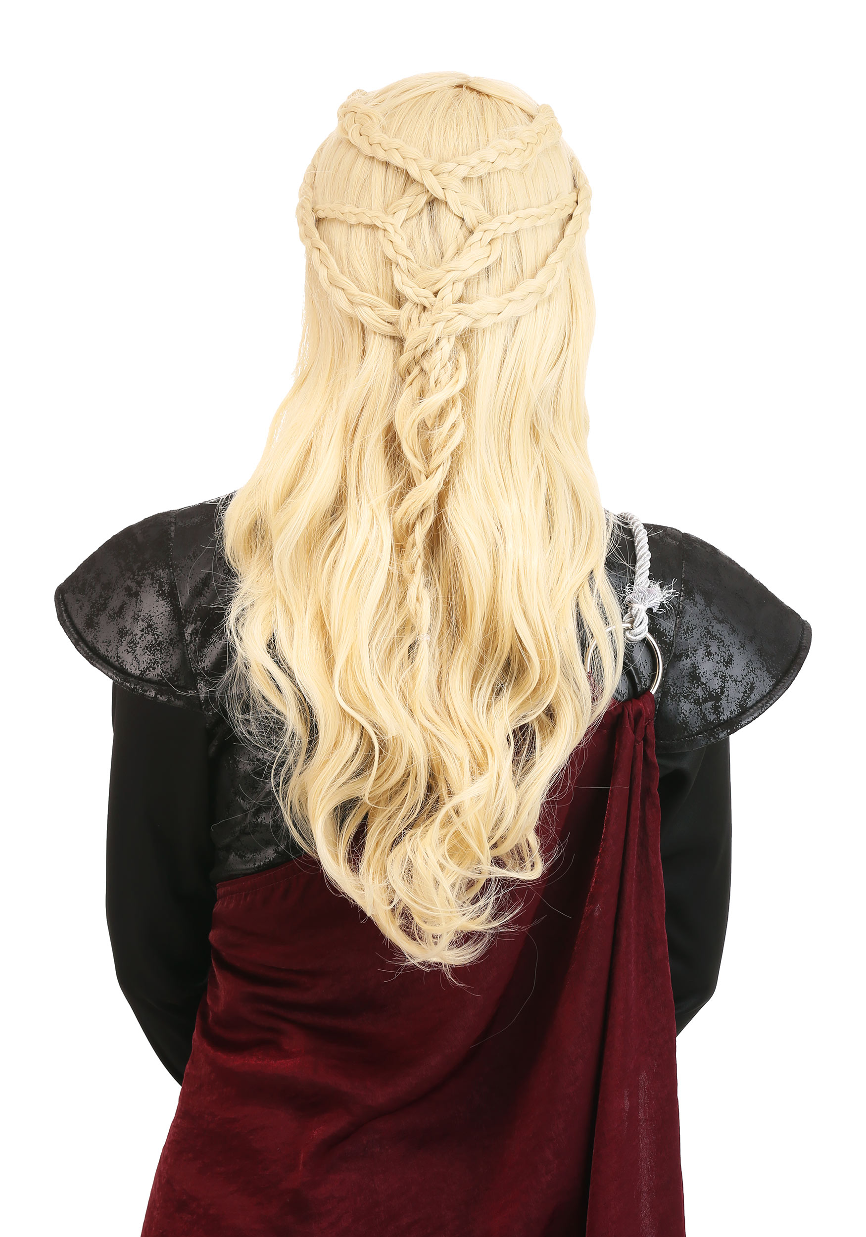 Daenerys Makeup and Hair Back View