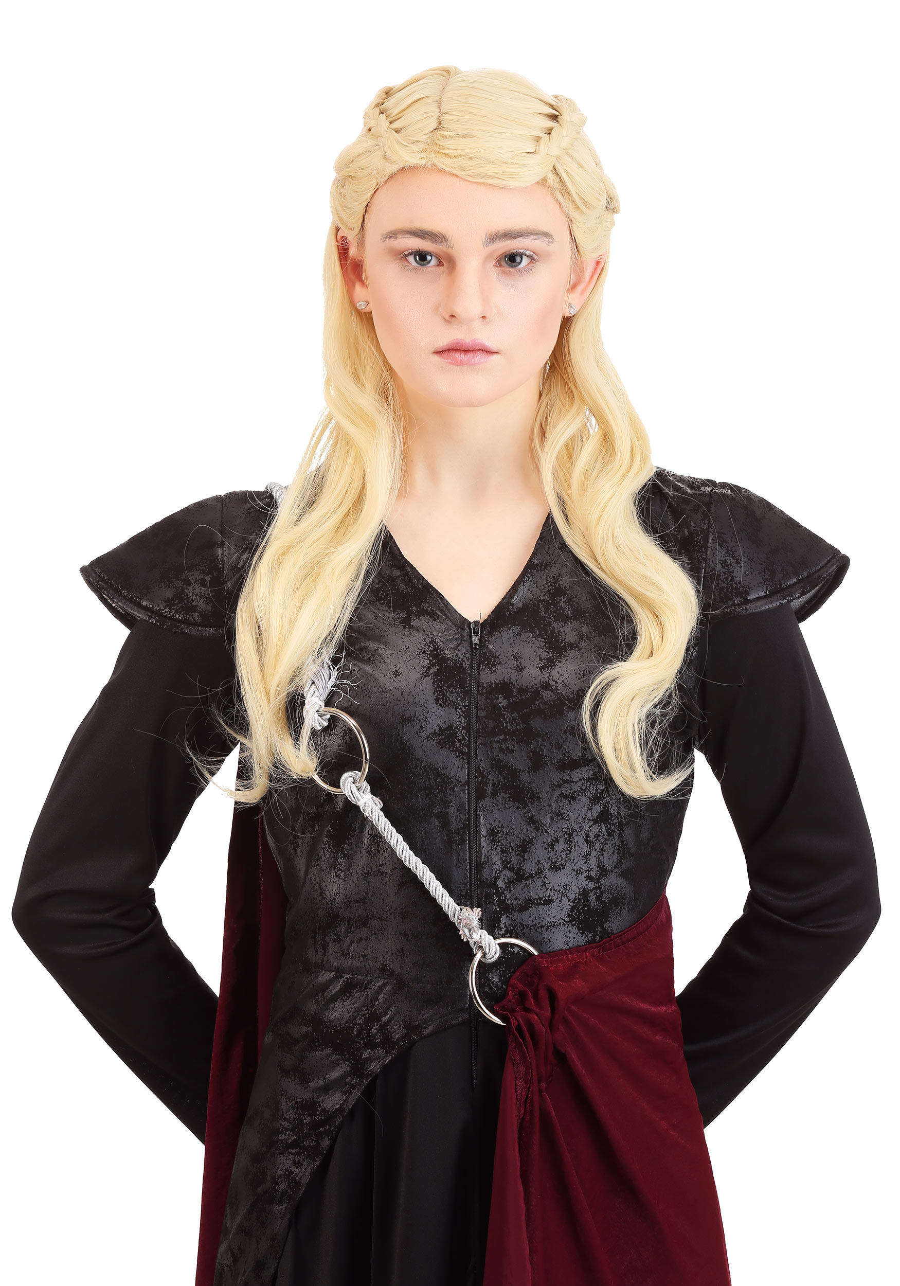 Daenerys Makeup and Hair Front View