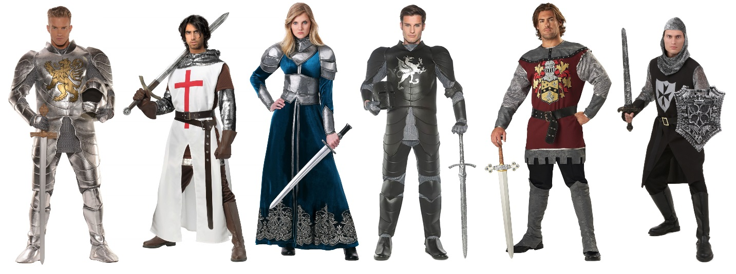 Adult Knight Costumes for the Faire