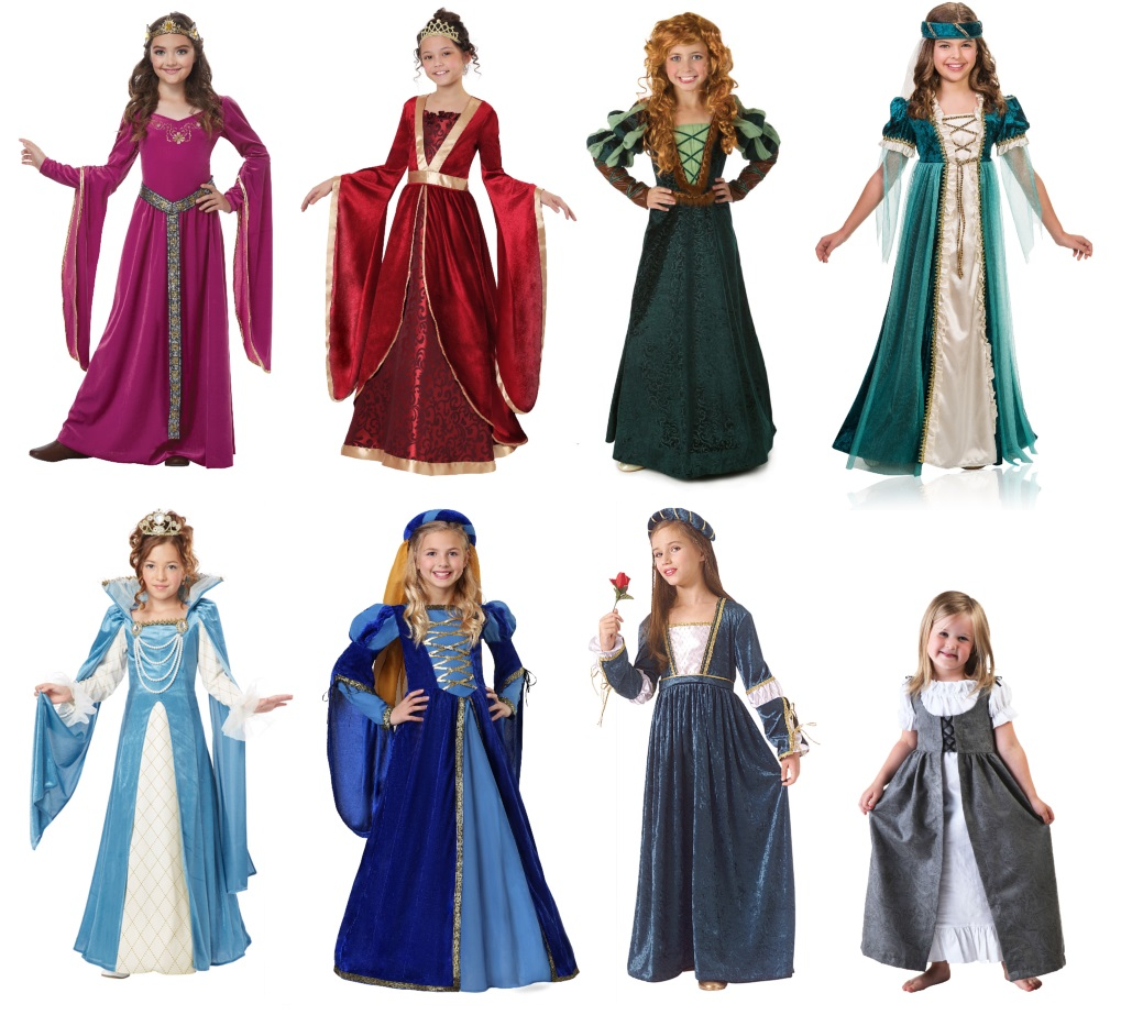 Renaissance Dresses for Girls