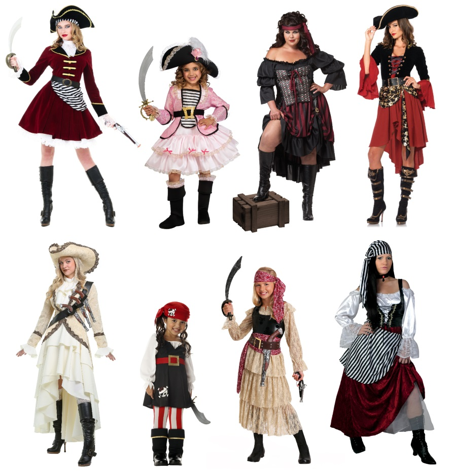 Pirate Dresses for Renaissance Festivals