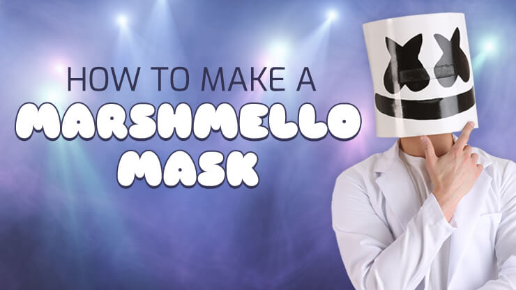 How to Make a Marshmello Mask DIY