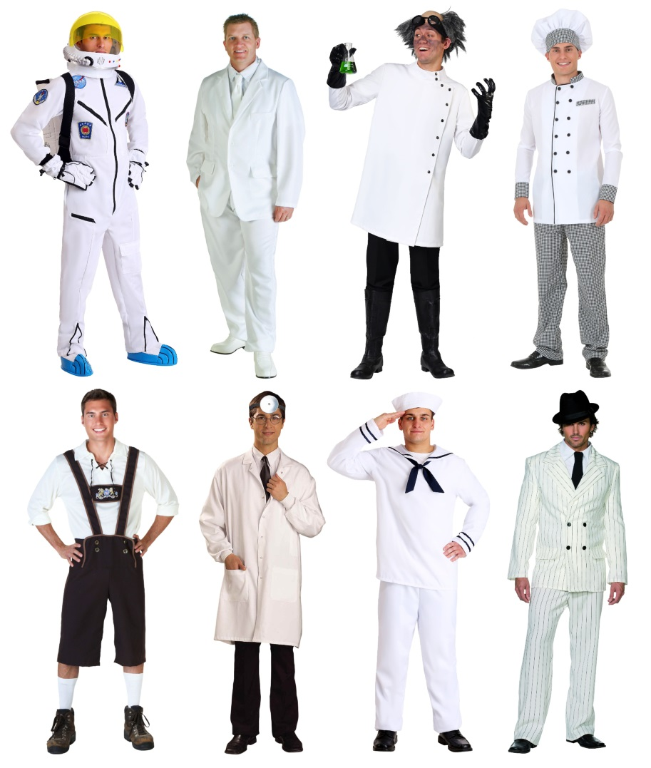 White Costumes to Wear With Your Marshmello Mask