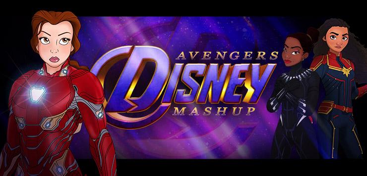 Princesses, Assemble! Disney Princess Avengers Mashup