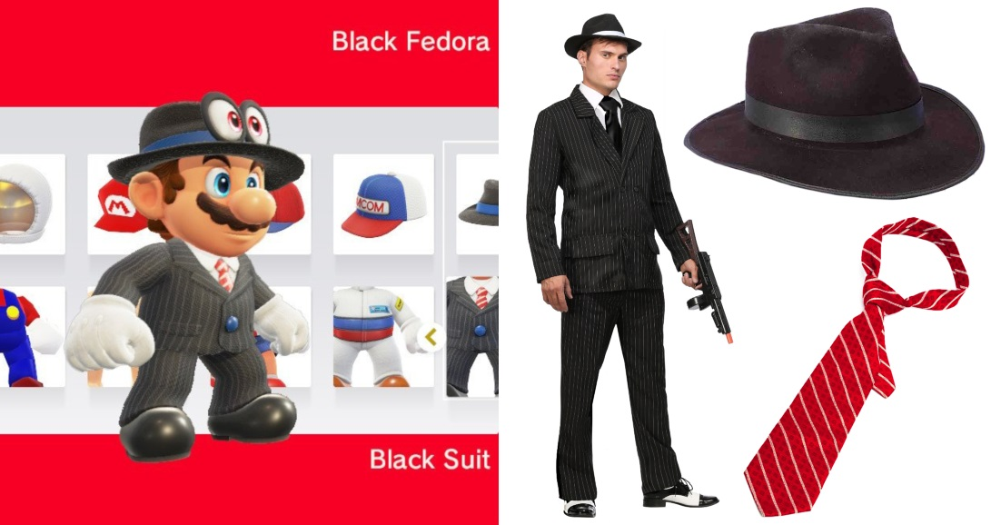 Black Suit Mario Costume