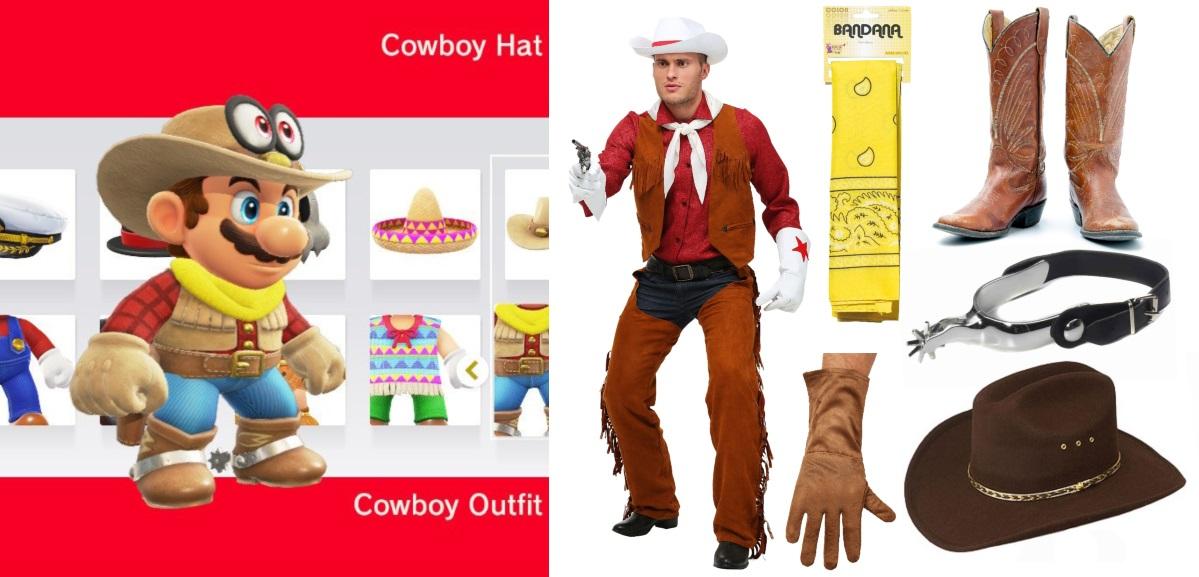Cowboy Mario Costume