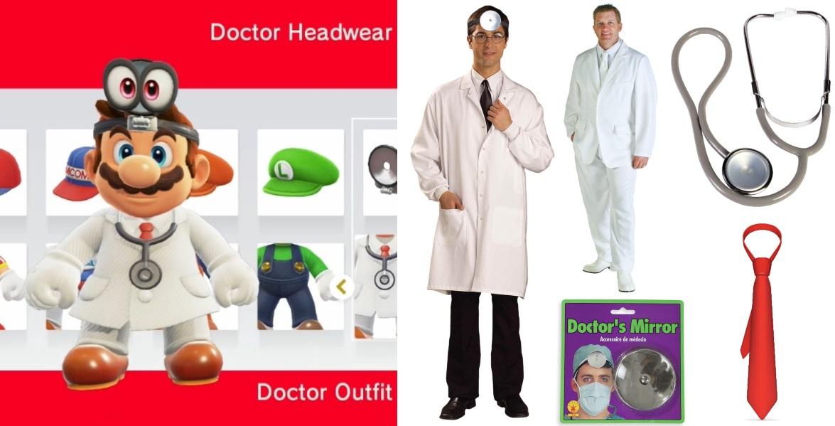 Doctor Mario Costume