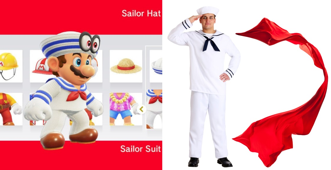 Sailor Mario Costume