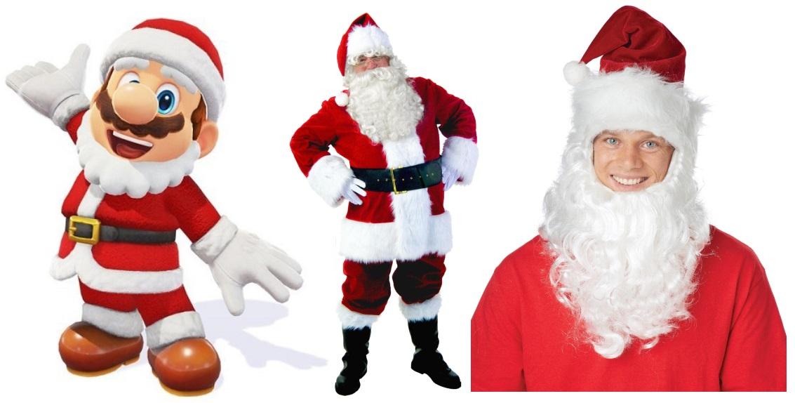 Santa Mario Costume