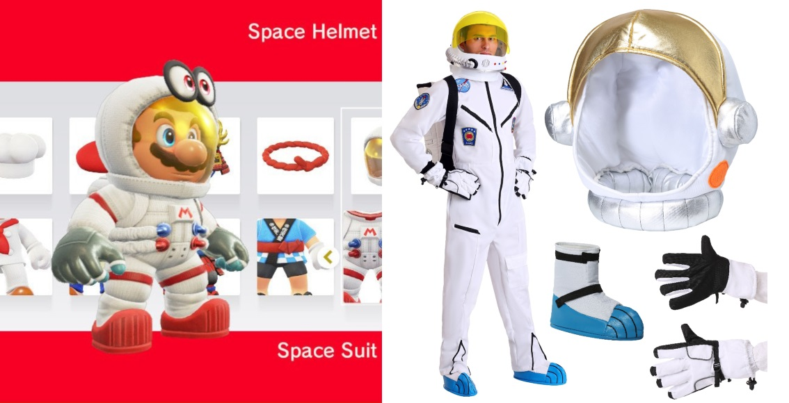 Space Suit Mario Costume
