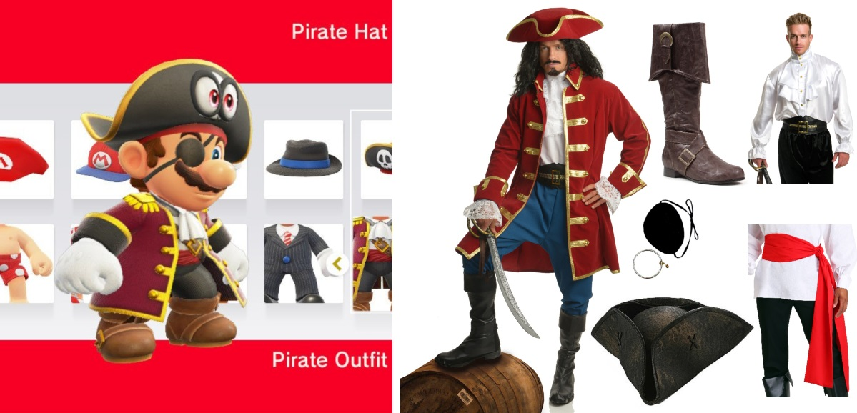 Pirate Mario Costume