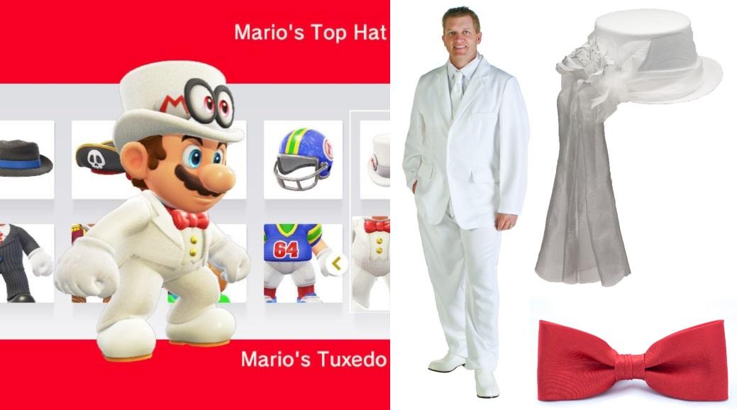 White Tuxedo Mario Costume